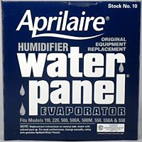 Aprilaire - 10 - Water Panel Evaporators