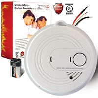 Apollo America - APC-120V-CO-S - Hardwired Combination Smoke and Carbon Monoxide Detector with Battery Back Up