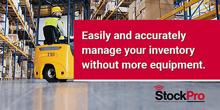 Manage your HVAC Inventory without more equipment with Stockpro from Baker Distributing