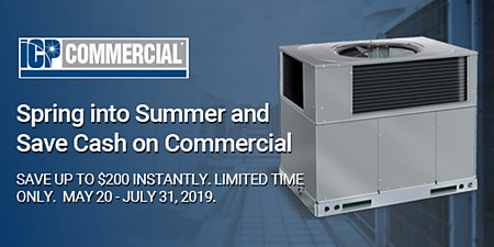 ICP commercial savings. save up to $200 instantly on ICP commercial units