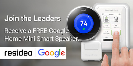 join the leaders and get a free google home mini speaker
