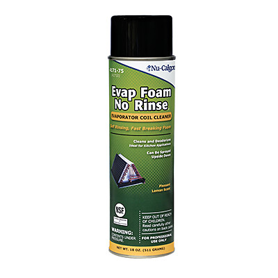 nucalgon evap-fresh foam hvac cleaning products
