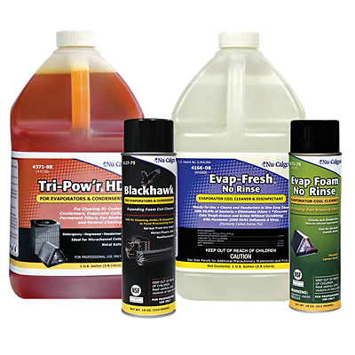 indoor air quality hvac cleaning products from nucalgon available at baker distributing company