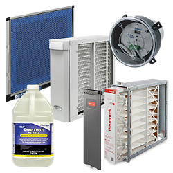 indoor air quality products available at baker distributing