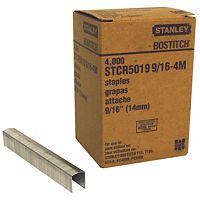 "Bostitch® - STCR50199/16-4M - Heavy Duty 7/16"" PowerCrown™ Staples STCR50199/16-4 STPL, 5019, 7/16CN, 9/16 4000 ct"