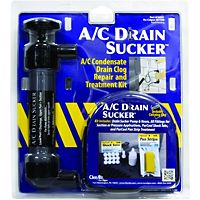 Nu-Calgon - 61308 - A/C Drain Sucker, condensate Drain clog repair and treatment kit