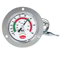 "Cooper-Atkins - 6142-20-3 - Vapor Tension-thermometer, Back Connect / Front Flange, 2"" Dial"