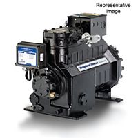 Emerson Climate - 2DC3R53KE-TFC-800 - 53,000 BTU, 208/230-3, Air Cooled Semi-Hermetic Discus Compressor, POE
