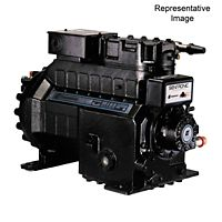 Emerson Climate - KAKB-011E-CAV-800 - 1 HP, POE Oil, Air Cooled Semi-Hermetic Compressor 208/230-1