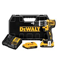 DeWalt - DCD796D2 - 20V MAX XR Li-Ion Brushless Compact Hammerdrill Kit