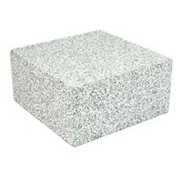 "DiversiTech - 22098 - Air Handler Block, Eps, Concrete Grey, (8"" x 8"" x 4"")"