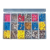 DiversiTech - PA25 - 450 Terminals (20 Each Kind) In Transparent Plastic Box