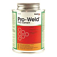 DiversiTech - PW-8 - Pro-Weld 8 Oz. Brush-Top Container Regular Body PVC Cement