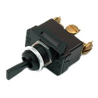 DiversiTech - TS-1 - 20 Amp Toggle Switch Single Pole-Single Throw ON/OFF, A Rating