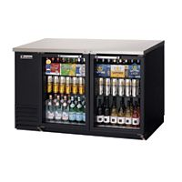 Everest - EBB59G - 2 Glass Door Back Bar Cooler