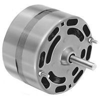 "Fasco - D116 - 4.4"" 1/15 HP 115V 1500 RPM Clockwise Motor"