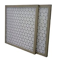 "Flanders/Precisionaire - 11255 - 21-1/2"" x 23-5/16"" x 2"" Flat Panel Heavy Duty Poly Synthetic Air Filter"