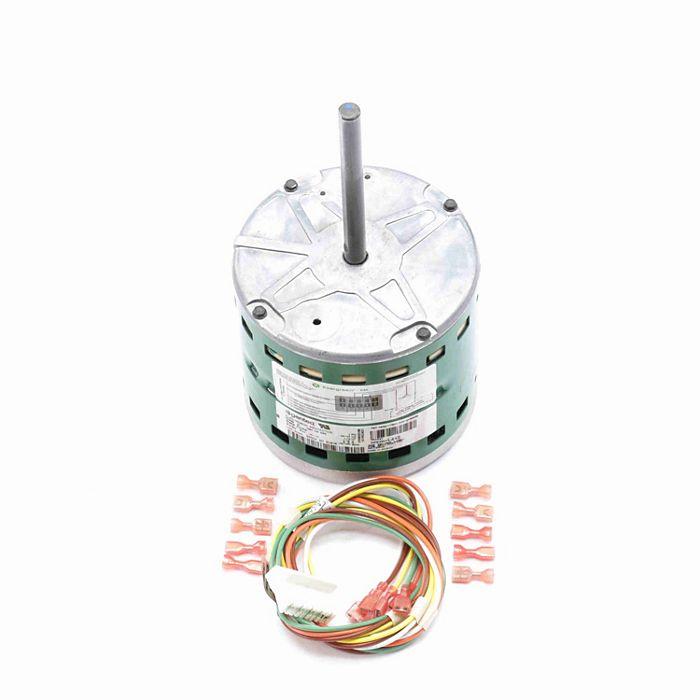 Genteq - 6103E - Evergreen ECM Replacement Motor, 1/3 HP, 1075 RPM, 5  Speed, 115 Volts