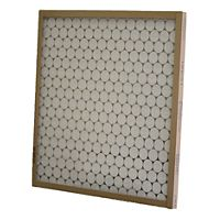 "Glasfloss - GTASP16H21H1 - 16-1/2"" x 21-1/2"" x 1"" Made to Order Disposable Fiberglass Filter, Metal Grid"