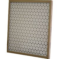 "Glasfloss - GTASP21H23E1 - 21-1/2"" x 23-5/16"" x 1"" Made to Order Disposable Fiberglass Filter, Metal Grid"