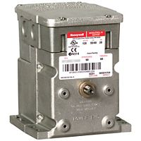 Honeywell - M4185B1009 - 60 lb.-in, Spring Return, Two Position, Line Voltage, 1 Auxiliary Switch, 120V