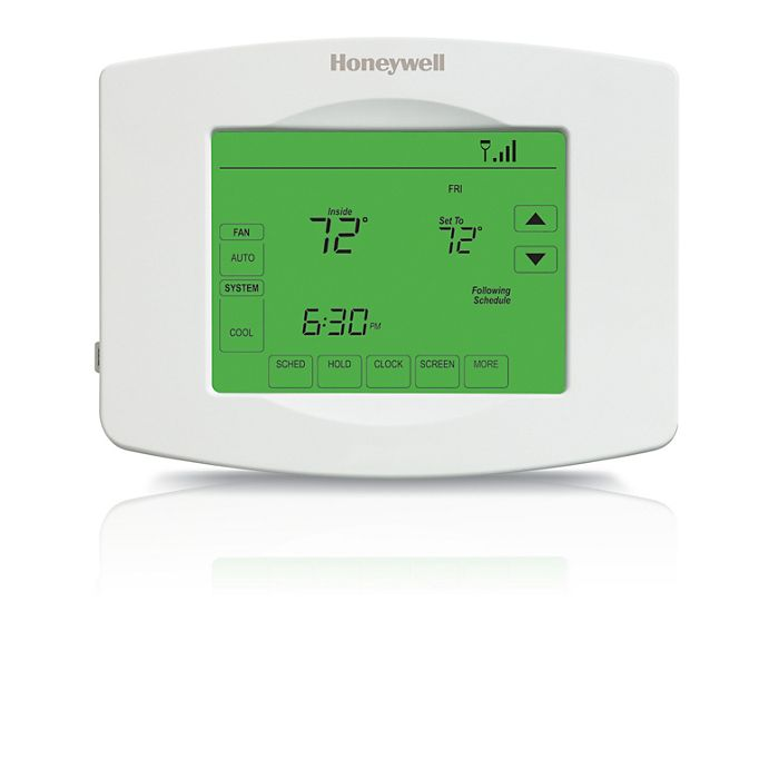 What Is Auxiliary Heat >> Honeywell Th8320wf1029 U Wi Fi Visionpro Thermostat Heat Cool Or Heat Pump With Auxiliary Heat