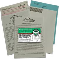 Mainstream Engineering - QT3001 - QwikProducts Qwik608® EPA Paper Test only - English