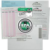 Mainstream Engineering - QT3002 - QwikProducts Qwik608® EPA Paper Test only - Spanish