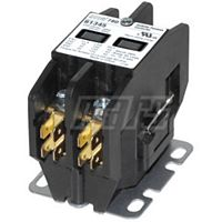 MARS - 61345 - 45EG20AJ - Definite Purpose Contactor 2 Pole 30 Amp 24 Volt Quick Connect & Standard Cover