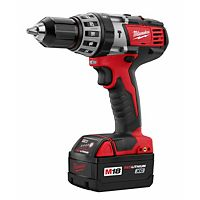 "Milwaukee Tool - 2602-22 - M18™ Cordless Lithium-Ion 1/2"" Hammer Drill/Driver Kit"