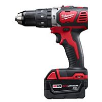 "Milwaukee Tool - 2607-22 - M18™ Compact 1/2"" Hammer Drill/Driver Kit"