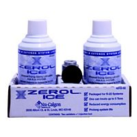Nu-Calgon - 4312-52 - Zerol Ice Compressor Lube Enhancer for R-22 Systems, 2 Cans + Access Valve