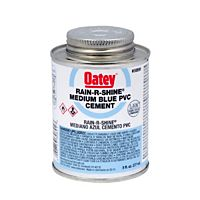 Oatey - 30891 - Rain-R-Shine, Blue PVC Cement - 8 Ounce