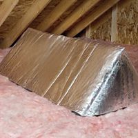 Owens Corning - 402723 - OC Pinkcap attic stair insulator