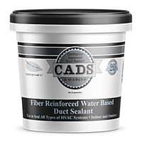 Polymer Adhesives - CADS-1(G) - Grey, Fiber Reinforced Water Based Duct Sealant