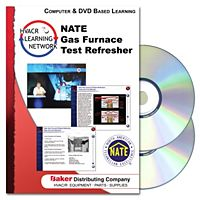 Prokup Media - 164042 - NATE Gas Furnace Test Refresher - CD/DVD