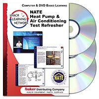 Prokup Media - 164044 - NATE Heat Pump & Air Conditioning Test Refresher - CD/DVD2