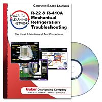 Prokup Media - 164053 - 22/R-410A Mechanical Refrigeration Troubleshooting - CD