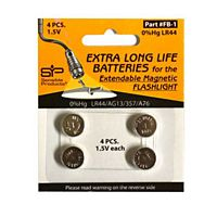 Sensible Products - FB-1 - Batteries, 4 pack for EMF1 LED Extendable Magnetic Flashlight