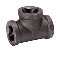 "Mueller - 520-603 - 1/2"" Tee Black 150Lb. Malleable Iron Fitting"
