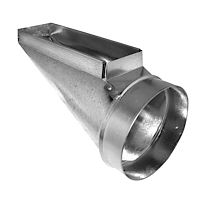 "Southwark Metal - 283148 - 3-1/4"" x 14"" x 8"" End Stack Boot"