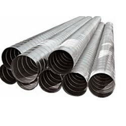Spiral Pipe and Fittings - Ducting and Sheet Metal