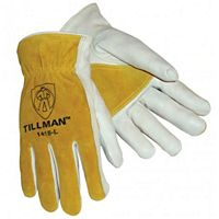 John Tillman - 1418L - Reinforced Palm Cowhide Working Gloves Large