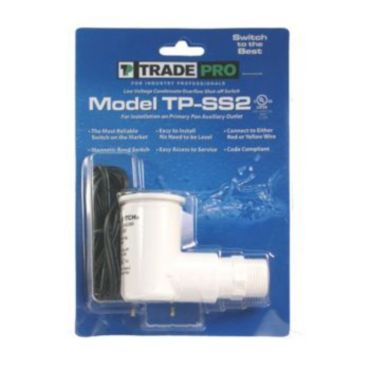 Tradepro 97634 Ss2 Safe T Switch Primary Pan Secondary Drain Outlet Condensate Shutoff