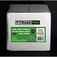 TRADEPRO® - TP-TOWEL-SHOPWHT - Shop Towels 3.5 lb. White