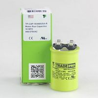 TRADEPRO® - TP10440U - 10 MFD 440V Round Capacitor Made in the USA