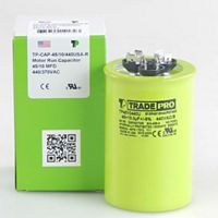 TRADEPRO® - TP4510440U - 45/10 MFD 440V Round Capacitor Made in the USA
