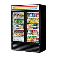 True Manufacturing - GDM-49-LD - Glass Door Merchandiser Refrigerator with LED Lighting, 2 Doors