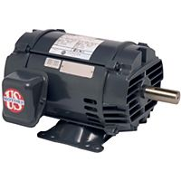 U.S. Motors - D15P2D - 15HP 1775 RPM 208-230/460V General Purpose Three Phase Motor (ODP)