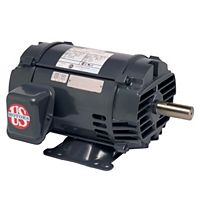 U.S. Motors - D32P2D - 1-1/2HP 1800 RPM 208-230/460 & 190/380V Polyphase General Purpose Motor (ODP)